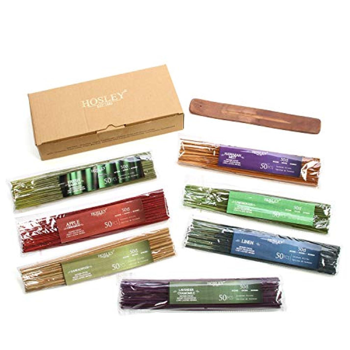 プログレッシブ敬戦争Hosley's Assorted 350 Pack Incense Sticks, Highly Fragrances include: Apple Cinnamon, Hawaiian Mist, Sandalwood...