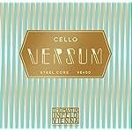 VERSUM バーサム ソロ チェロ弦 D線 スチールコア 4/4 マルチアロイ巻 VES42