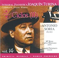 Trilogy: Complete Piano Works 14 by Turina (2001-05-29)