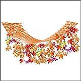 秋もみじ装飾 優美紅葉トンボハンガー L180cm 6668
