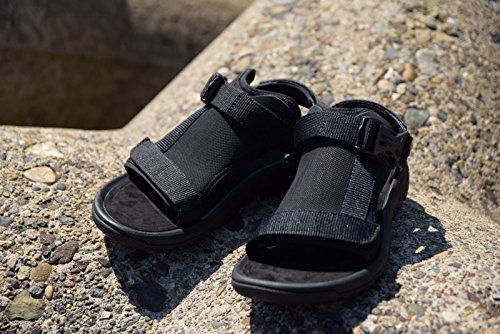 TEVA テバM HURRICANE VOLTメンズ ハリケーン ボルトBLACK(ブラック)メンズ サンダル 靴 黒 アウトドア スポサン 即納,MENS US7(約24cm)