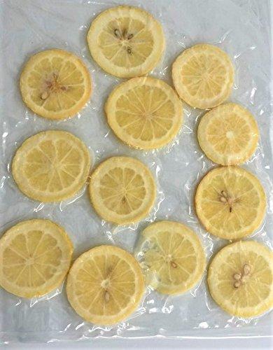 国産冷凍レモン スライス レモンスライス バラ凍結品  約10-12枚/袋 × 2袋 【消費税込み】