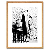 Photo Actress Louise Brooks Silent Star Picture Framed Wall Art Print 写真ルイ星画像壁