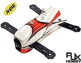 RJX 3D + X - Speed CAOS 250B FPVレーシングドローン ミニクワッドレーサーフレームキット 空撮競技ドローン(組み立てしていません)