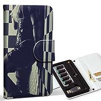 スマコレ ploom TECH プルームテック 専用 レザーケース 手帳型 タバコ ケース カバー 合皮 ケース カバー 収納 プルームケース デザイン 革 クール 写真 人物 005625