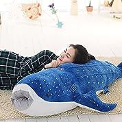 クジラ ぬいぐるみ め 超大 巨大 サメ クッション 抱き枕 大きい/ (145CM)