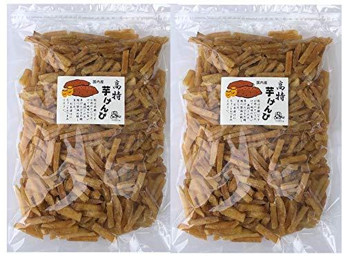 飯尾産業 【訳あり メガ盛り】 芋けんぴ たっぷり 1kg (500g × 2個) お徳用 国産さつまいも使用