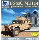 1/350 米海兵隊M1114ハンビー装甲型汎用車 CB5037