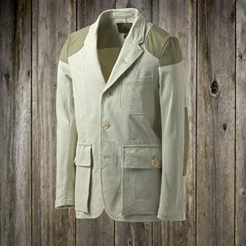 Nigel Cabourn Mallory Jacket Jersey: Khaki