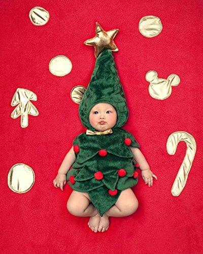 コスプレ衣装 クリスマスツリー 着ぐるみ ロンパース 半袖 ...