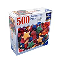 Ravensburger Puzzle 'CANDY STARS' 500 Piece Perfect Fit Jigsaw Puzzle [並行輸入品]