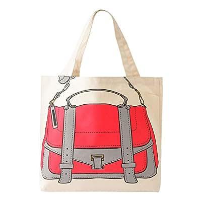 My Other Bag(マイアザー バッグ) エコバッグ Emma Grey&Coral B01-62 [並行輸入品]