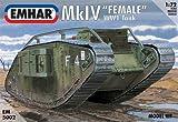 エマー 1/72 EM5002 イギリス Mk.Ⅳ フィメール 戦車