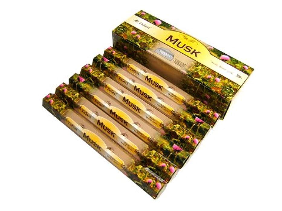 TULASI(トゥラシ) ムスク香 スティック MUSK 6箱セット