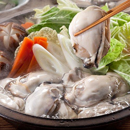 特大 広島県産ジャンボ牡蠣(カキ)1kg ※むき身/加熱用