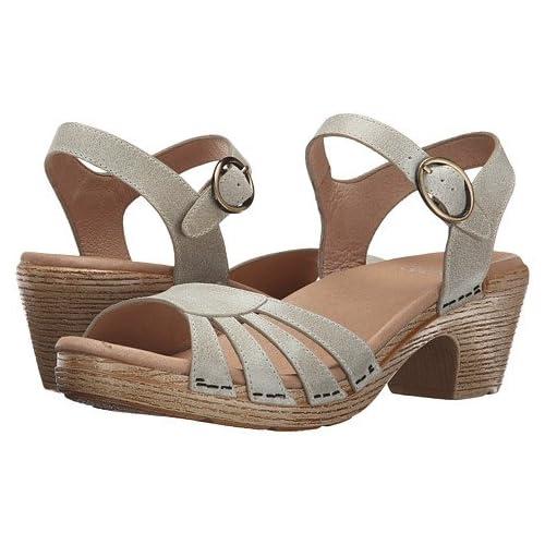 (ダンスコ)Dansko レディースサンダル・靴 Marlow Oyster Washed Leather US Women's 7.5-8 24-24.5cm Regular [並行輸入品]