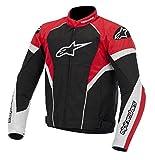 alpinestars(アルパインスターズ)バイクジャケット ブラック/ホワイト/レッド (2XL) T-GPプラスRジャケット0514