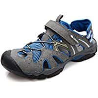 a25888ef455 Clorts Men s Outdoor Hiking Athletic Sports Lightweight Amphibious Sandal  SD207