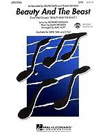 Alan Menken: Beauty And The Beast (SATB). For 合唱, 混声四部合唱(SATB), ピアノ伴奏