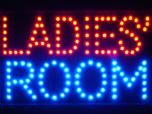 LED看板 サイン 電飾 看板 カフェ バー ADV PRO led070-r Ladies' Room Female Toilet LED Neon Sign