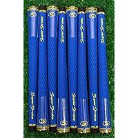 8 SuperStroke s-tech標準ゴルフグリップ – ブルー – 18956