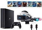 PlayStation VR Start Bundle 10 Items:VR Start Bundle PS4 Pro 1TB 7 VR Game Disc Rush of Blood Valkyrie Battlezone Batman:Arkham VR DriveClub Battlezone Battlezone(米国並行輸入品)
