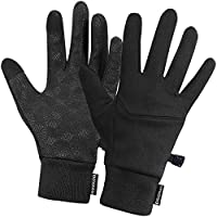 dooolo Winter Gloves,Touch Screen Gloves Warm Running Walking in Cold,Lightweight Compression Safe Driving Cycling Gloves for Women and Men,Cellphone Texting Full Palm Non-Slip