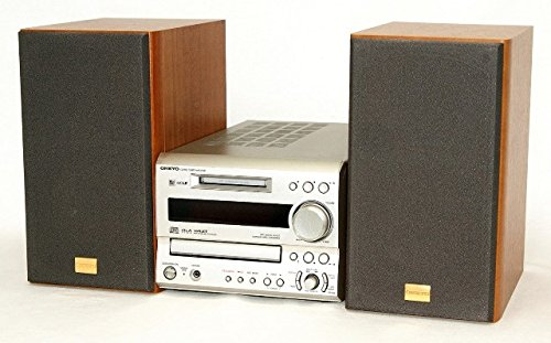 ONKYO オンキョー FR-SX9(Y) CD/MDチューナーアンプミニコンポシステム(本体FR-X9とスピーカーD-052TX)