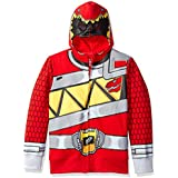 Power Rangers Little Boys' Character Hoodie, Red