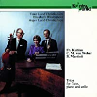 Trios For Flute, Cello And Piano by Westenholz Toke Lund Christiansen (1993-09-17)
