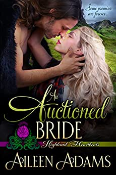 An Auctioned Bride (Highland Heartbeats Book 4) by [Adams, Aileen]