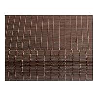 ZEMIN ウッドブラインド 竹 ローラーブラインド 防水 カーテン 展望 断つ 吊るす カスタマイズ可能 リフティング、 内側と外側 インストール、 3色、 24サイズ オプション (色 : コーヒー, サイズ さいず : 90x180cm)