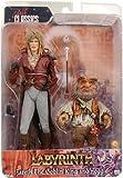 NECA Labyrinth Jareth、Hoggle 7インチアクションフィギュア2パック