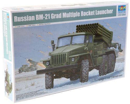 """1/35 ソビエト軍 BM-21 """"グラート""""初期型"""
