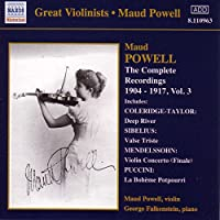 Great Violinists: Powell Vol.3