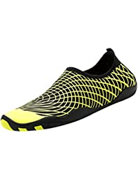 Fenteer 男女用 ウォーターシューズ スポーツ 靴 ゴム製 吸汗 速乾 通気 超軽量 抗菌 全2色9サイズ