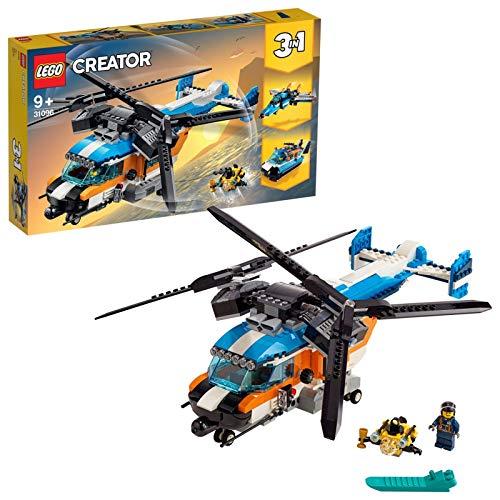 レゴ(LEGO) クリエイター ツインローター・ヘリコプター 31096