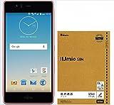 【Amazon.co.jp 限定】arrows M03(ピンク)【IIJmio みおふぉん SIMカード 音声通話パック付】 FARM06101-PNK-BUN