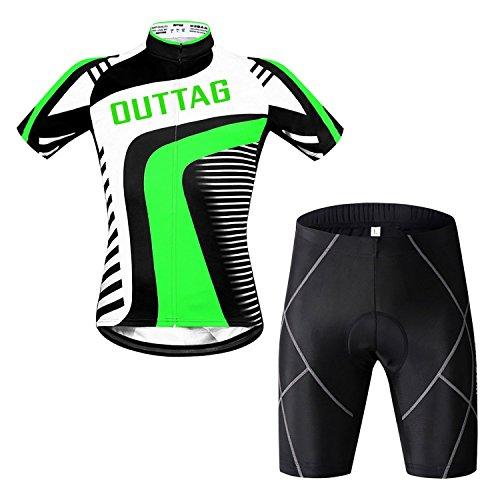 OUTTAG サイクリングウェア サイクリングジャージ&メッ...