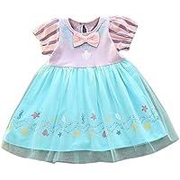1ff0679f16bee Plus Nao(プラスナオ) ワンピース 半袖 膝丈 プリンセス お姫様 かわいい キュート 女の子 女児 幼児