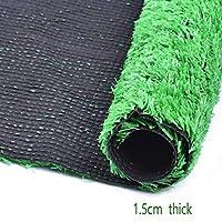 人工芝人工芝、8フィート×10フィート80(平方フィート)サイズ0.59インチパイルハイト人工芝マット (Color : A)