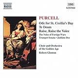 パーセル:聖セシリアの日のためのオード/テ・デウム/他 画像