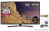 LG 49V型 4K 液晶テレビ HDR対応 49UJ630A + 耐震マット(耐震ゲル) セット