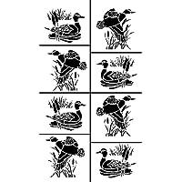 Armour Etch Stencil Rub N Etch Stencil, Ducks, 5-Inch by 8-Inch by Armour Etch Stencil