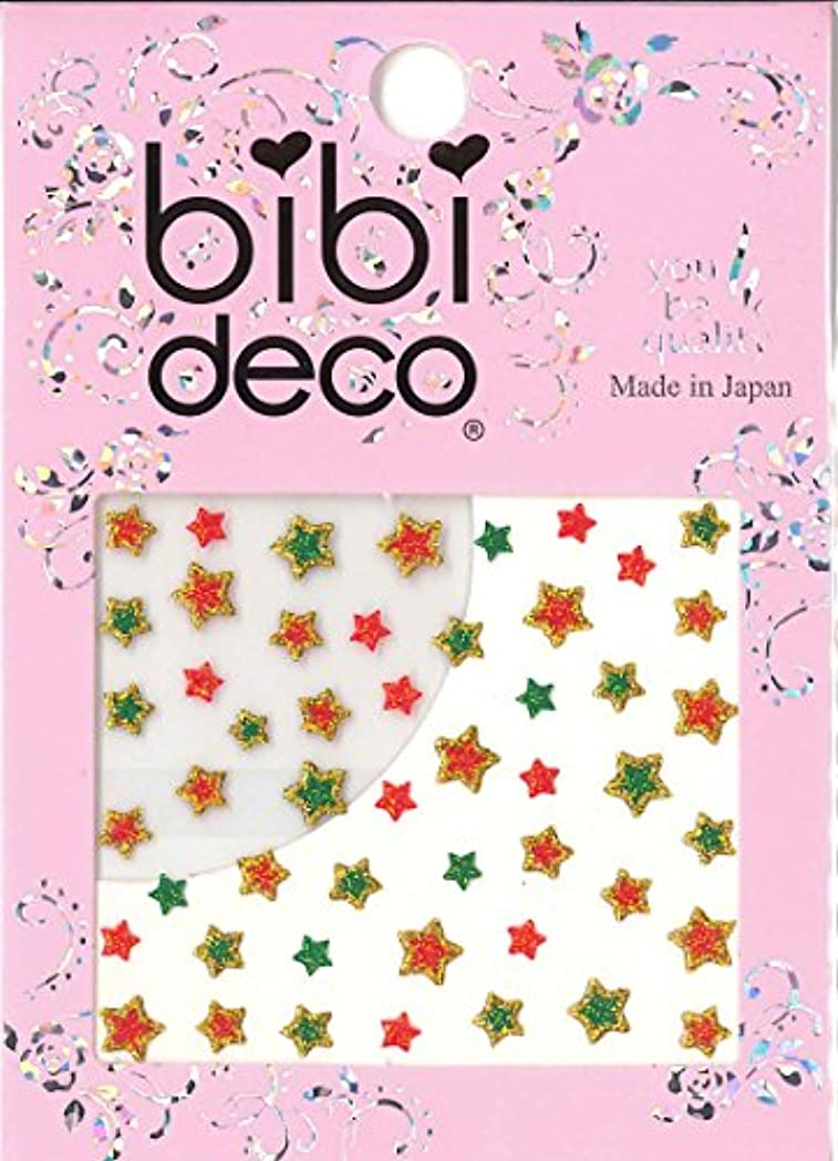 ベアリングサークル確立します慣らすbibi DECO スター クリスマス bi-07Xmas