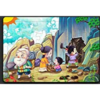 chusea Interesting Wooden JigsawクリエイティブWooden Storyパズル初期学習おもちゃFantastic Gifts for Kids ( Yu Gong