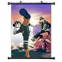 Narutoアニメファブリック壁スクロールポスター( 32x 44)インチ。[ WP ] Naruto 2–14( L )