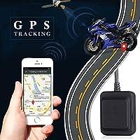 Sedeta® オートバイのクワッドバンドGPSトラッカー ミニロケータ 盗難防止ポジショニングGSM GPSリアルタイムトラッキングデバイス 自動車用