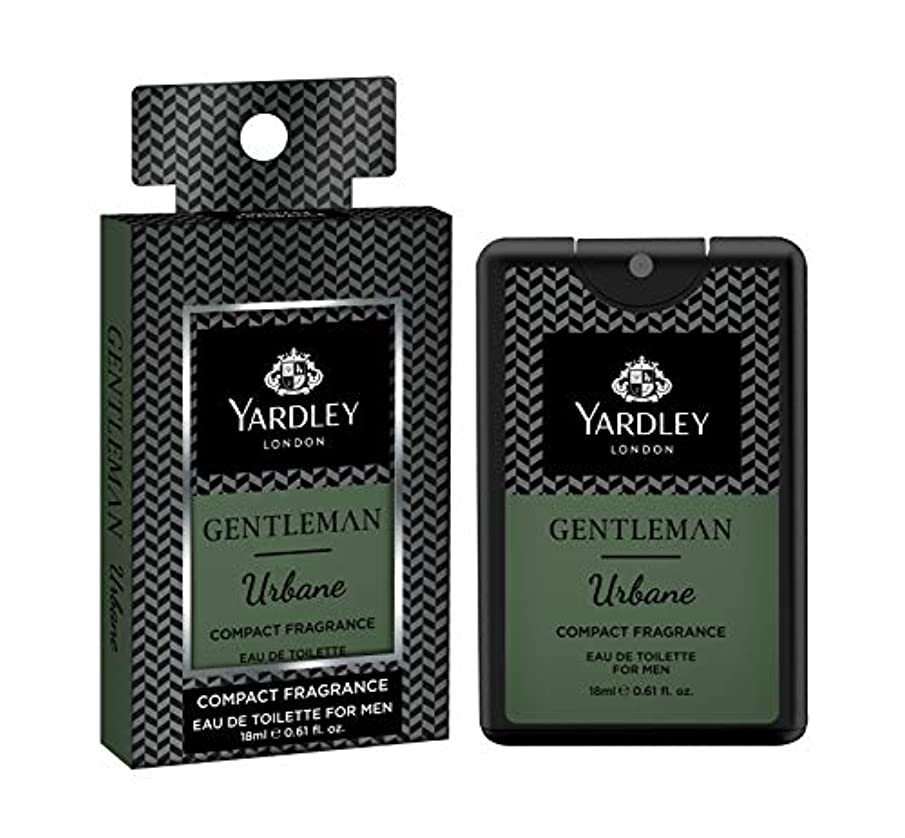 男やもめラッカスほこりYardley Gentleman Urbane Compact Perfume 18 ml