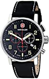 [ウェンガー]Wenger 腕時計 Commando Chrono Analog Display Swiss Quartz Black Watch 01.1243.104 メンズ [並行輸入品]